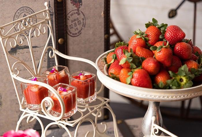Strawberry in Paris パリに恋して/画像提供:コンラッド大阪