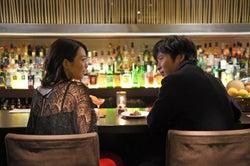 黒川芽以、田中圭/映画「美人が婚活してみたら」より(提供写真)