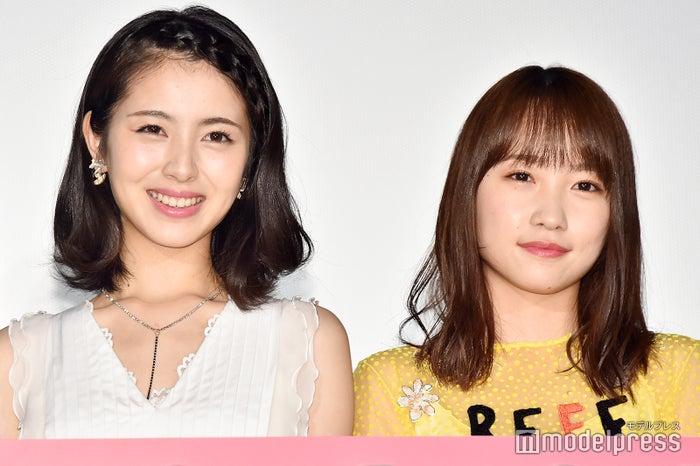 浜辺美波、川栄李奈(C)モデルプレス