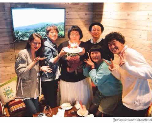 河北麻友子、有吉弘行・陣内智則らと「ヒルナンデス!」新年会を開催