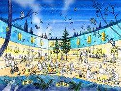 星野リゾート、軽井沢に若年層向けホテル「BEB 軽井沢」19年開業へ