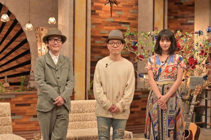 リリー・フランキー、ハナレグミ・永積崇、池田エライザ(C)NHK
