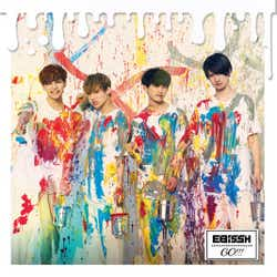 EBiSSH 3rd Single「GO!!!」TYPE-A(8月22日発売)(写真提供:SDR)