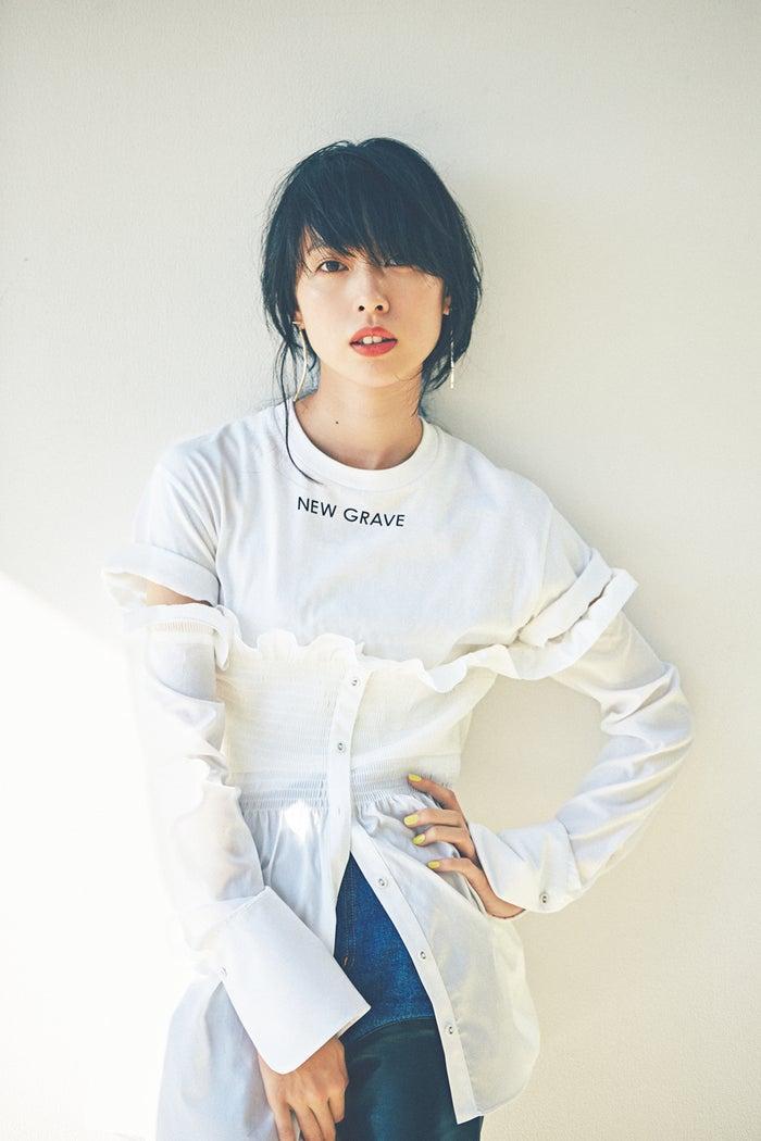 戸田恵梨香ホワイトコーデ