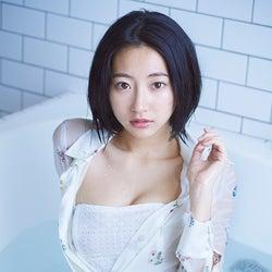 武田玲奈、透ける素肌がSEXY お風呂ショットで美ボディ披露