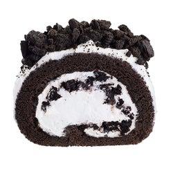 マックカフェ「オレオロールケーキ」ザクザク&ふわふわ食感が楽しい新作