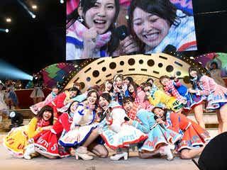「SKE48冬コン2015名古屋再始動。~珠理奈が帰って来た~」リクエストアワー1位に松村香織が涙