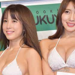 (左から)犬童美乃梨、森咲智美(C)モデルプレス