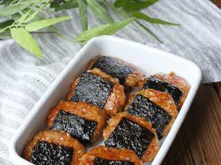 【作り置きレシピ】お弁当にぴったり「照り焼きのりっこ鶏つくね」