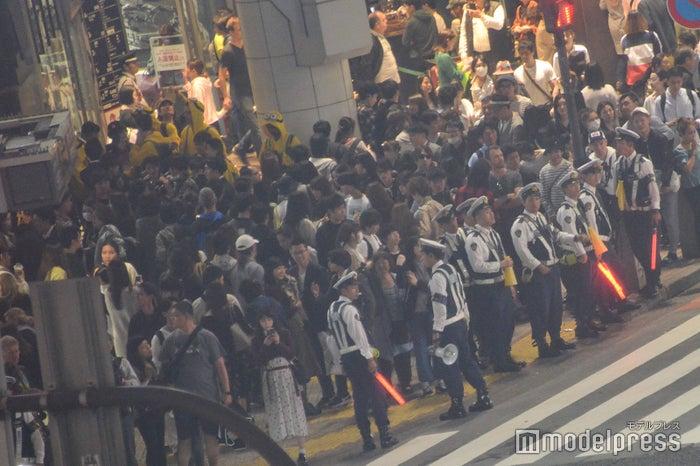 渋谷スクランブル交差点/2018年10月27日午後18時頃撮影 (C)モデルプレス