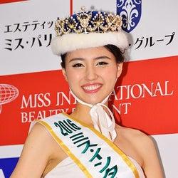 2016ミス・インターナショナル日本代表決定 岩手出身の読モ大学生