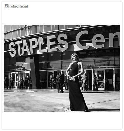 「第58回グラミー賞」授賞式を訪れたローラ/Instagramより