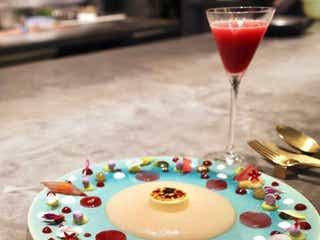 夢のようなデザートのフルコース!お皿に描かれた食べるアート「ジャニス・ウォン」