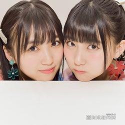 この双子感は奇跡!/矢吹奈子&田中美久 (C)モデルプレス