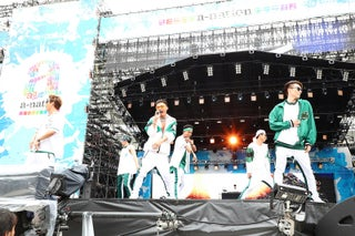"""EXILE THE SECOND、""""最高の盛り上がり""""で「a-nation」スタート トップバッターの役目務めあげる"""