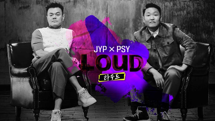 JYP×PSY「LOUD」(提供写真)