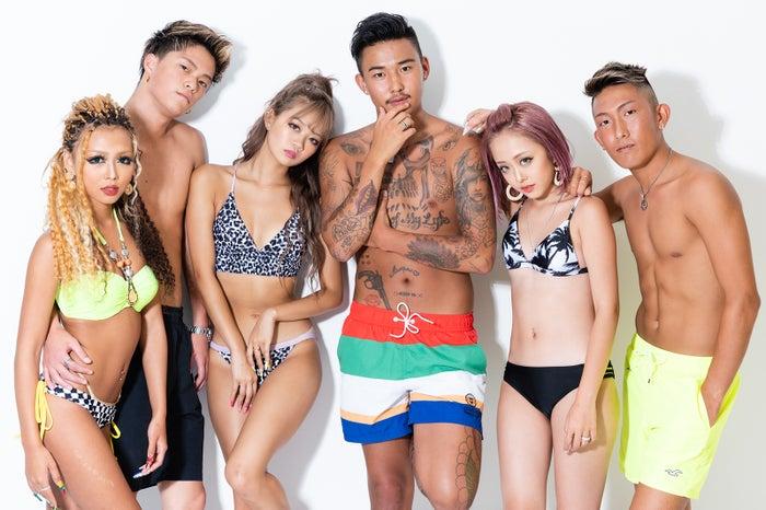 「EGG HOUSE Season2」(左から)きぃりぷ、ひゅうが、なつか、プル、みりちゃむ、ふみひろ (提供画像)