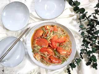 レンジを使えば簡単にできる!あと一品にちょうどいい!韓国風春雨サラダ