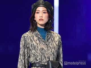 桐谷美玲、大人可愛いアニマルコーデに視線集中<TGC2019A/W>