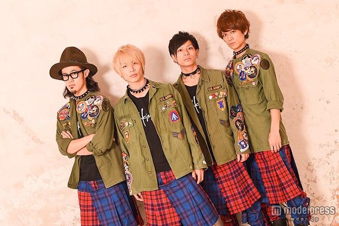 (左から)わちゅ~、TSUBASA、大輝、Jun