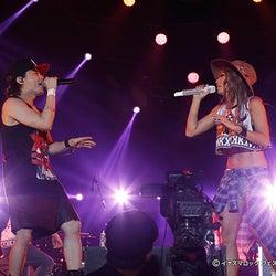 倖田來未、初のステージでTMR西川貴教とコラボ 名曲連発で沸かす