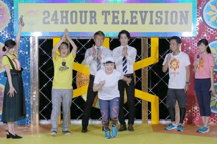 <ブルゾンちえみ「24時間テレビ」チャリティーマラソンランナー>/画像提供:日本テレビ<br>
