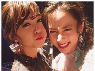 桐谷美玲&河北麻友子、密着ショットにファン歓喜「みれまゆ好きだぁ」「めちゃくちゃ可愛い」