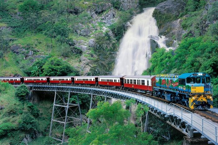 キュランダ高原列車/画像提供:JTBワールドバケーションズ