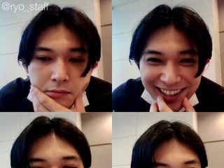 吉沢亮、リモートでも「美の暴力」 スクリーンショットに反響