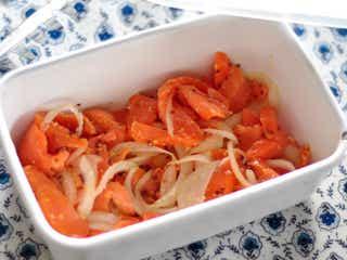 美肌にも◎サンドイッチやサラダに使えるサーモンマリネの簡単レシピ