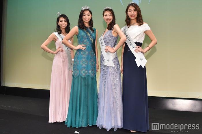 (左から)成田美織さん、斎藤恭代さん、塚本敦未さん、早川佳朱美さん(C)モデルプレス