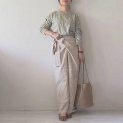 楽ちんなのにオシャレ見え♡ ラップデザインのパンツ&スカートでスタイリッシュに決めよう