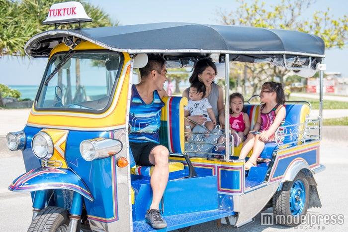 ファミリーにもおすすめ/画像提供:沖縄トゥクトゥク