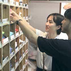 香織、健司「TERRACE HOUSE TOKYO 2019-2020」5th WEEK(C)フジテレビ/イースト・エンタテインメント