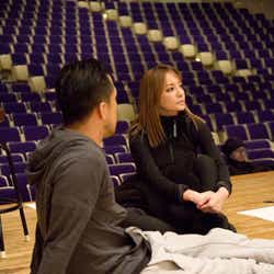 12月19日フライングリハーサル/ZIN、浜崎あゆみ(画像提供:avex)