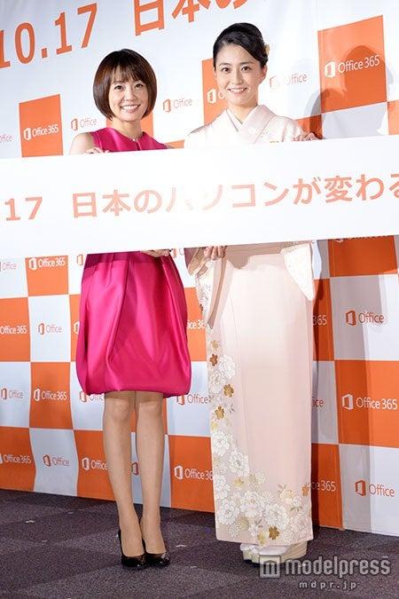 (左から)小林麻耶、小林麻央(C)モデルプレス