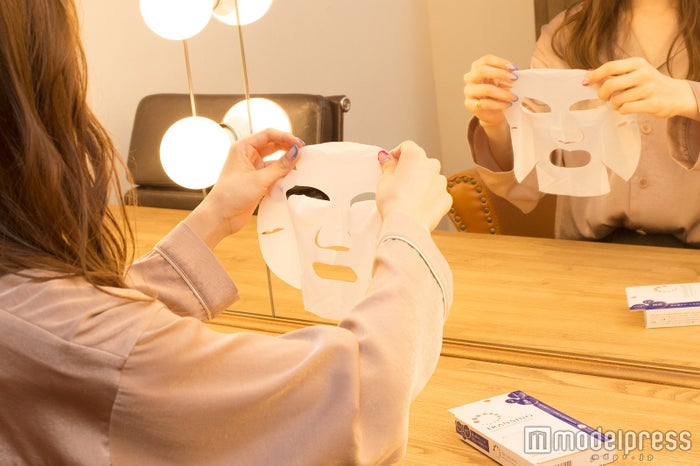 1回のシートマスクで肌がモチモチに(C)モデルプレス