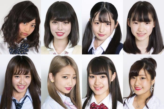 日本一かわいい高校一年生を決める「高一ミスコン」候補者の一部(投票サイトで全候補者を公開:https://contest.mdpr.jp/jk1misscon2017)