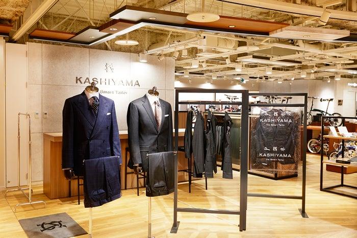 カスタムオーダースーツ・KASHIYAMA the Smart Tailor/画像提供:日本空港ビルデング