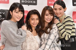 モデルプレス - 松川菜々花・遠山茜子・みうらうみ・黒木麗奈、水着ショットで個性アピール