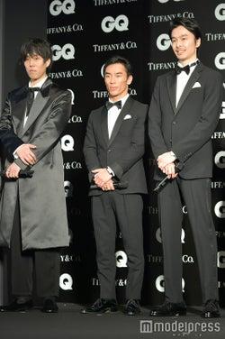 野田洋次郎、佐藤琢磨、長谷川博己、(C)モデルプレス