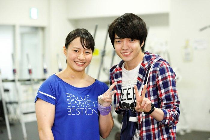 (左から)八木かなえ、西畑大吾(画像提供:関西テレビ)