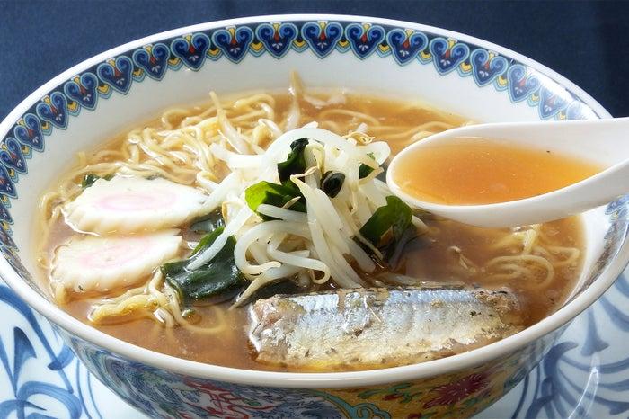 絶品秋刀魚ラーメン/画像提供:日本アクセス