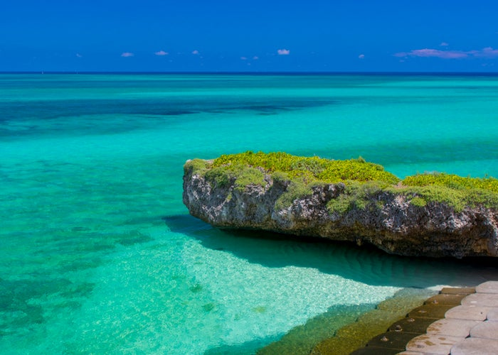 沖縄の美しい海と豊かな自然の保全にも努めている(提供画像)