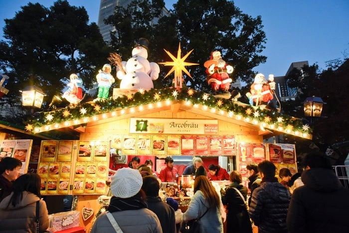 東京クリスマスマーケット過去開催時の様子/画像提供:ビー・エフ・シー