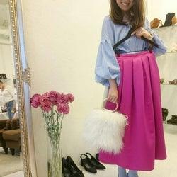 大人女子に似合う♥ ビビッドなピンクのスカート&パンツで華やかな春コーデ11選♪