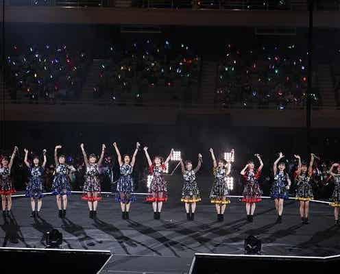 つばきファクトリー、初の日本武道館公演は大成功 岸本ゆめの「これからも私たちといろんな景色を見に行きましょう!」