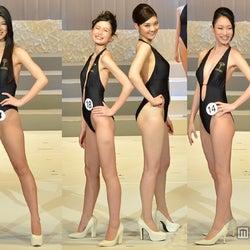 日本中の美女が集結 水着姿で圧巻ボディ披露 <2014ミス・インターナショナル・ジャパン/写真特集>