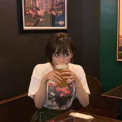 たまに、お休みの日は夕方からお酒を飲むことも。いまは控えているビールですが本当は大好きです…(提供写真)
