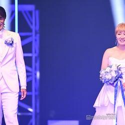 丸山桂里奈、元サッカー日本代表・本並健治氏と結婚を生発表<TGC2020A/W ONLINE>